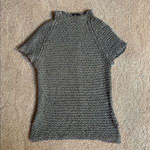 CK Calvin Klein designer short sleeve sweater